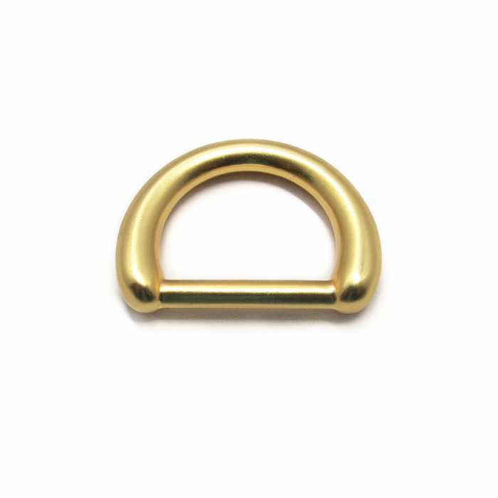 Metal Zinc Alloy 20mm D Ring Hand Bag Part