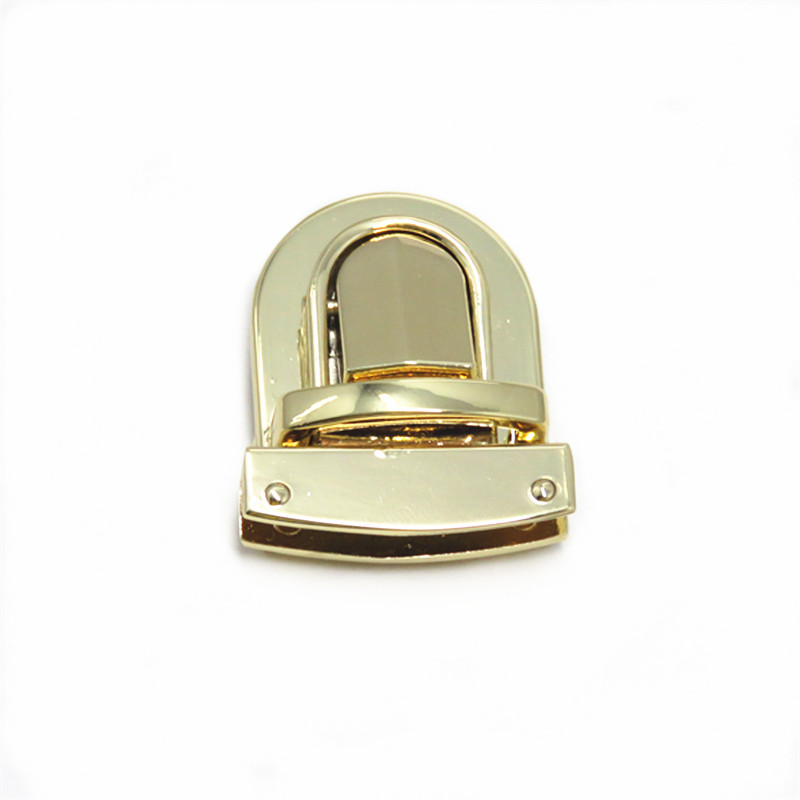 Gold Metal Lock For Briefcase
