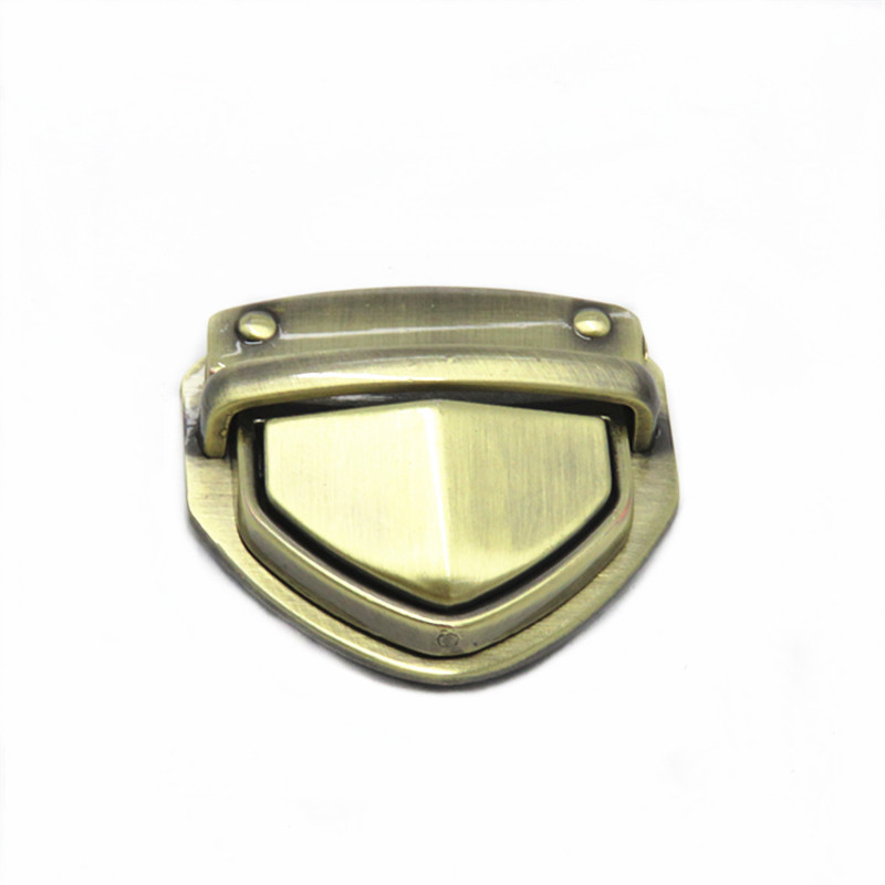 Zinc Alloy Metal Bag Lock For Handbag Accessories