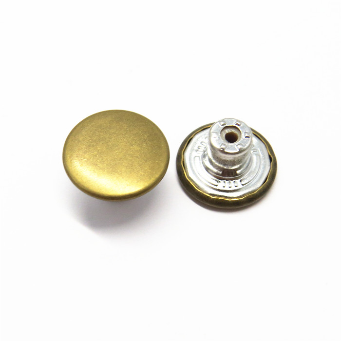 15mm Custom Metal Jeans Buttons