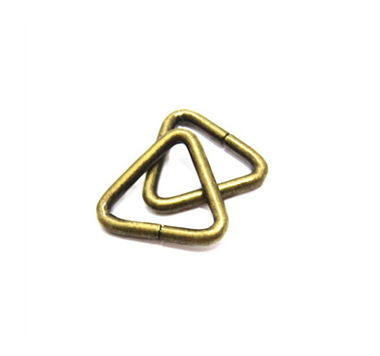 Iron Triangle Ring For Handbag