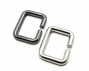 Metal Bag Hardware Square Ring For Bags