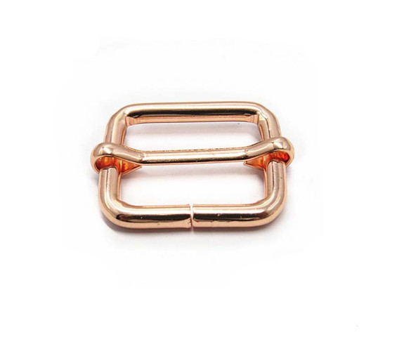 25.4mm Fashion Metal Bag Rose Gold Buckle