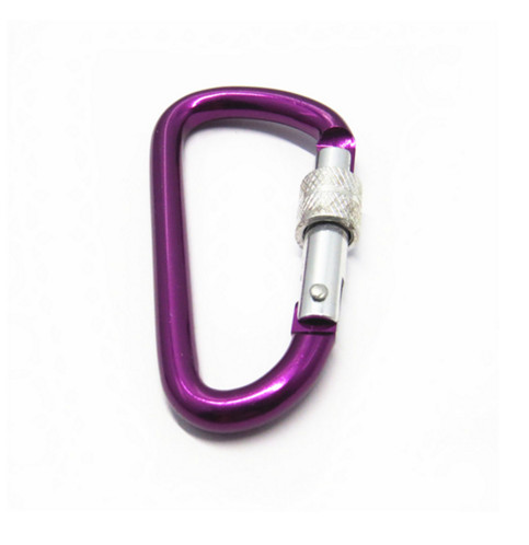 Swivel Carabiner Hook Hiking Carabiner Hook With Screw