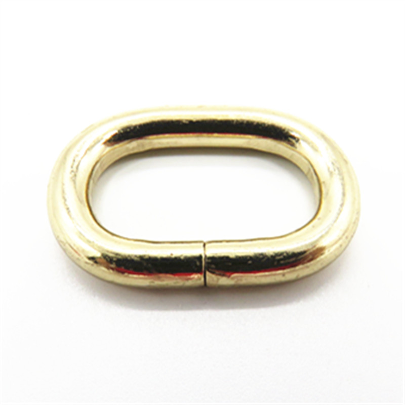 Whloesale 25mm Metal Oval Rings For Bags