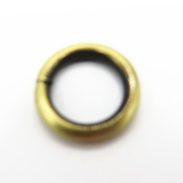 Shiny Small Open Metal O Ring For Bag